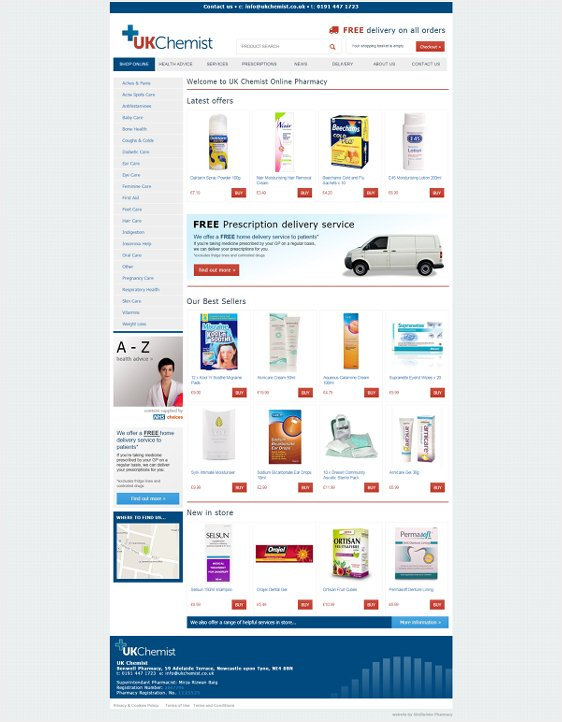 UK Chemist Online Pharmacy