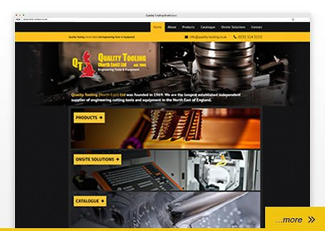 Quality Tooling website